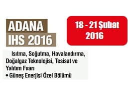 IHS Adana 2016