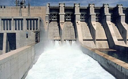 Hidroelektrik Enerji Santrali Baraj Savak