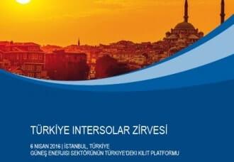 Intersolar 2016 Türkiye Zirvesi