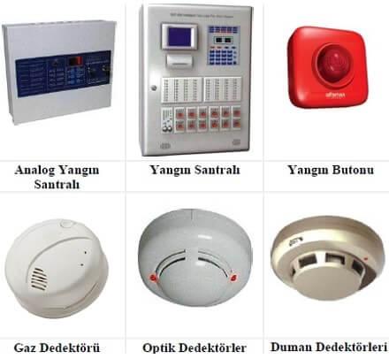 Yangın Tesisatı Otomatik Kontrol Elemanları