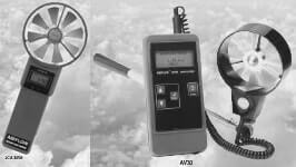 Elektronik Anemometre