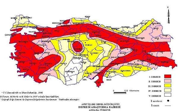 Akkuyu Nükleer Santrali Deprem Haritası