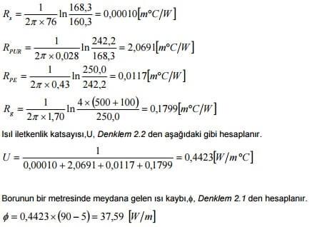 denklem 2-2 ve 2-1