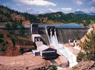 Hidroelektrik Enerji Santrali Baraj Gövdesi