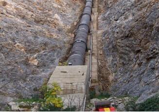 Hidroelektrik Enerji Santrali Cebri Boruları