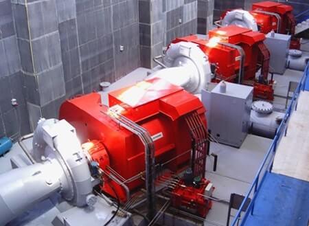 Hidroelektrik Enerji Santrali Dizel Jeneratör Panosu
