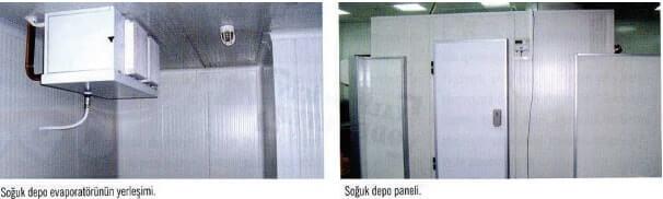 Soğuk Oda Paneli ve Evaporatörün Yerleşimi