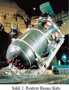 Basınçlı Reaktörleri Basınç Kabı