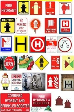 Hidrant İşaretleri