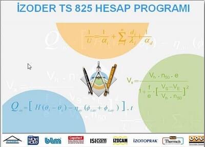 İzoder TS825 Hesap Programı