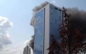 Polat Tower Yangını