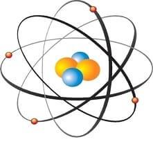 Radyasyon Atomun yapısının basit gösterimi