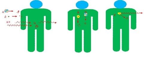 radyasyon etkileşimi