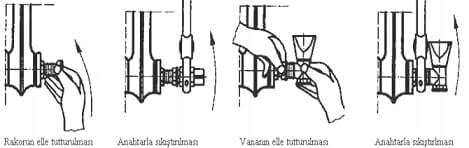 Radyatör Vanası Montajı