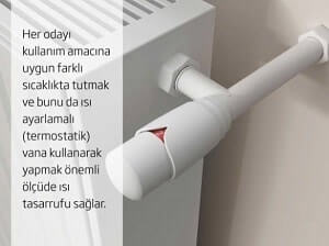 Termostatik Vana Kullanım İle Doğalgaz Faturasını Düşürmenin Yolları