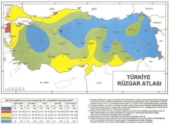 Türkiye Rüzgar Atlası