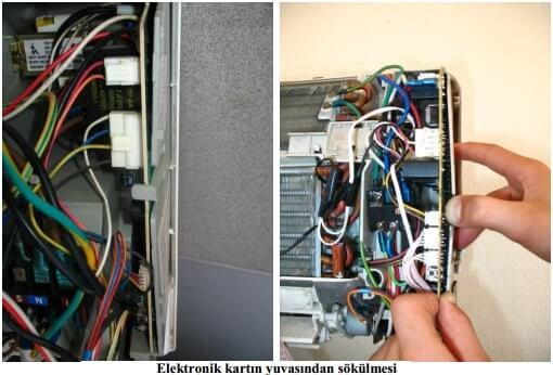 Installation of Air Conditioning Electronic Card