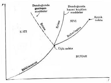 Saf Madde P T Diyagramı