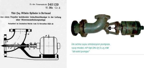 İlk ısıtma suyu sirkülasyon pompası