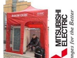 Mitsubishi Çalışma Çadırı