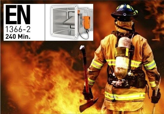 Yangın Damperi EN Sertifikasyonu