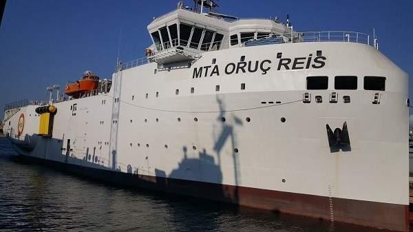 MTA Oruç Reis Araştırma Gemisi