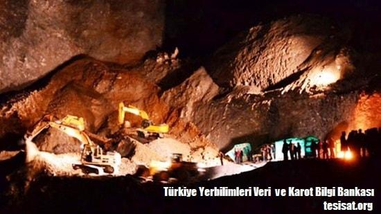 Türkiye Yerbilimleri Veri  ve Karot Bilgi Bankası