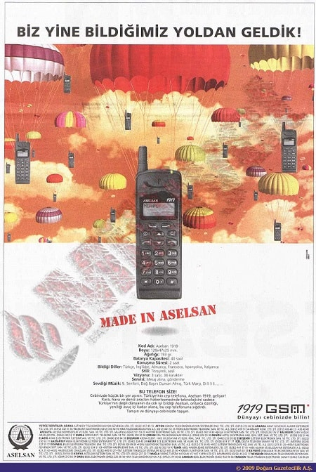Aselsan 1919 Made in Aselsan