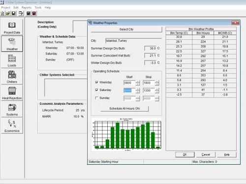 Chiller System Optimizer Yazılımı