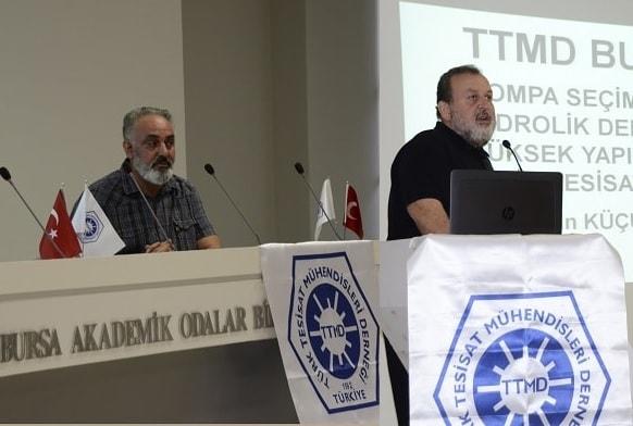 Mekanik Tesisat TTMD Bursa Paylaşım Semineri