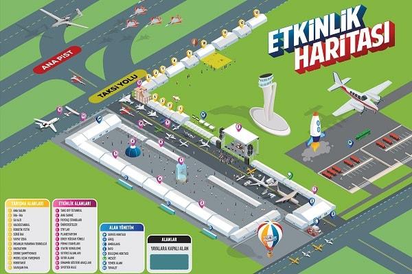 TEKNOFEST İstanbul Etkinlik Haritası