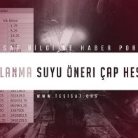 1_Kullanma_Suyu_Oneri_Cap_Hesabi