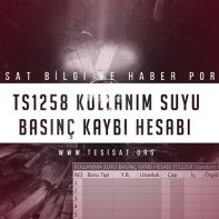 2_TS1258_Kullanim_Suyu_Basinc_Kaybi_Hesab