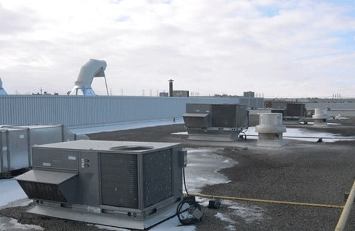 Çatı Tipi Paket Klimalar