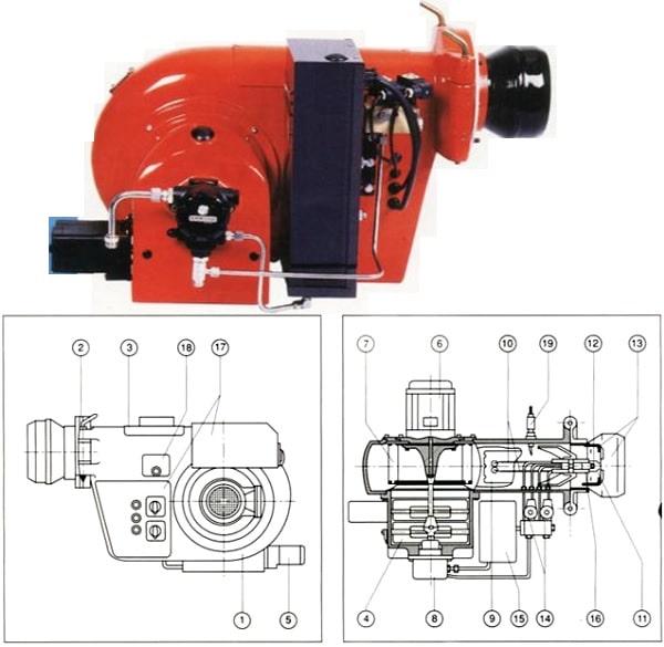 Fuel Oil Brülör