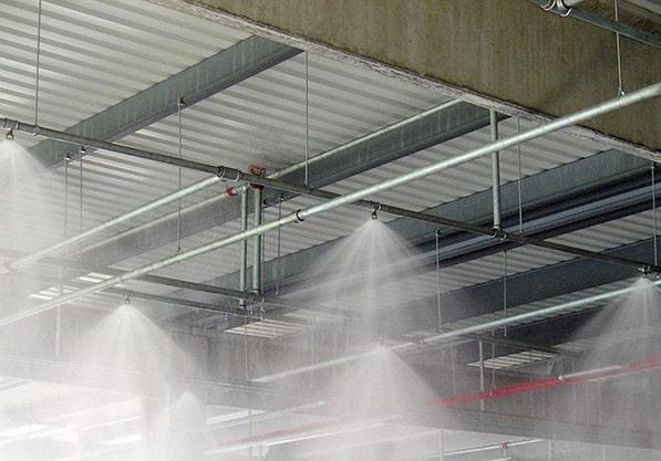 Sprinkler Sistemi