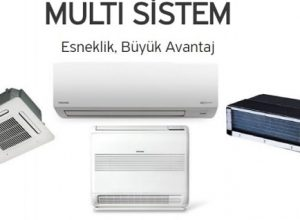 Toshiba Multi Klima Sistemleri