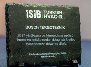 Bosch Termoteknik Ödül