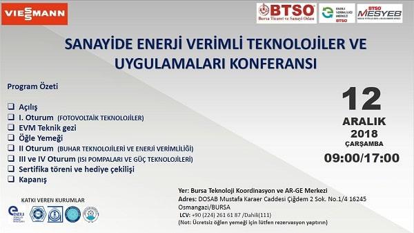 Sanayide Enerji Verimli Teknolojiler ve Uygulamaları