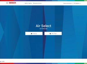AirSelect VRF Programı