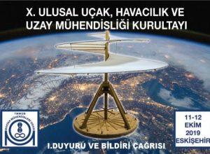 10. Ulusal Uçak Havacılık Ve Uzay Mühendisliği Kurultayı