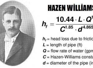 Hazen-Williams