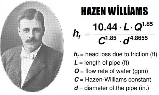 Hazen-Williams
