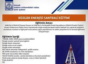 Rüzgâr Enerjisi Santrali Eğitimi