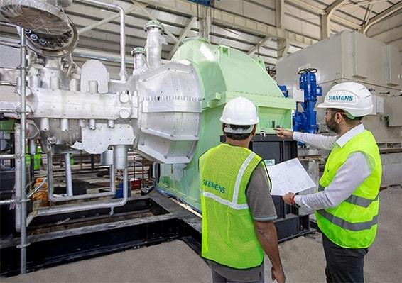 Siemens Buhar Türbinleri