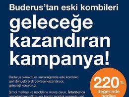Buderus Geri Dönüşüm Kampanyası
