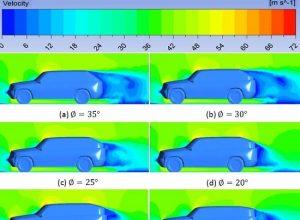 elektrikli araba parçacık görüntülemeli hız ölçüm