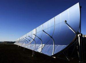 parabolik güneş kollektörlü sistem