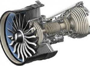 turbojet motor döner sabit boşluğu giriş yönü