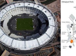 olimpiyat alanı gürültü ve ses kontrolü
